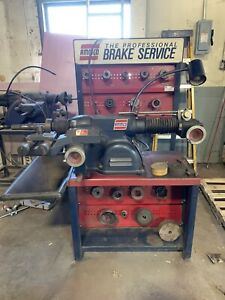 Ammco Brake Lathe 4100 With 7900 Twin Facing Tool And Bench