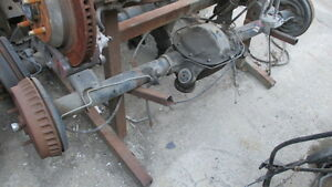 88 Mustang 4 Cyl Rearend Differential Assembly Fox Chassis
