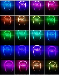 Car Auto Gear Shift Knob Led Light Multi Color Touch Activated Sensor For Ford
