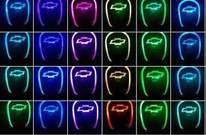 Auto Gear Shift Knob Led Light Multi Color Touch Activated Sensor For Chevrolet