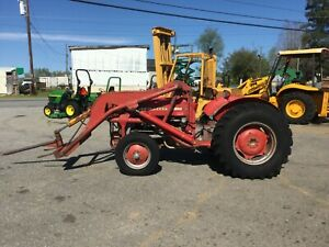 Massey Ferguson 135 Diesel Ps Loader Tractor bad Engine With 3887 Hours