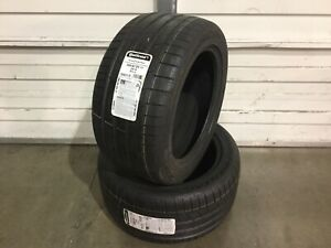 New Tires Continental P285 40zr17 Summer Tires