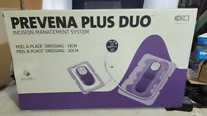 Brand New Kci Prevena Plus Duo Custom Incision Management System