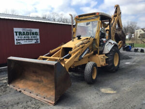 1997 New Holland 555e 2wd Tractor Loader Backhoe One Owner Only 2200 Hours