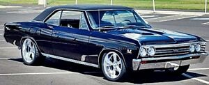 64 67 Chevelle A body 9 Inch Rear End Kit Trac Loc D slotted Disc Brakes