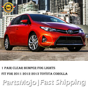 Fit 2011 2012 2013 Toyota Corolla Altis Bumper Fog Lights Driving Lamp Fog Lamps