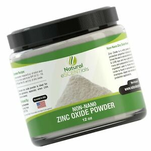 Natural Zinc Oxide Powder Non Nano And Uncoated Baby Safe Cosmetic Grade