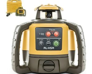 Topcon Rl h5a Self leveling Rotary Slope Laser Level Ls 80l Receiver