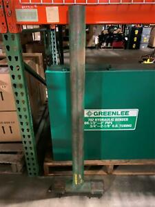 One 1 Used Greenlee Cable Wire Puller Tugger T boom Extension