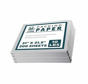 Packing Paper Sheets Moving Supplies 10 Lbs Of Unprinted Newsprint Paper 3