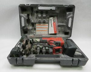 Ridgid Rp 330 Pressing Tool W Jaw Set Batteries