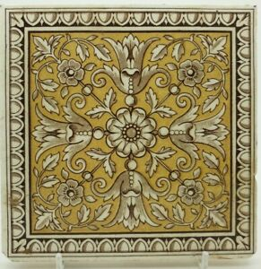 Antique Minton Aesthetic Transfer Printed Tile 2