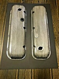 Vintage Cal Custom Aluminum Finned Valve Covers With Drips