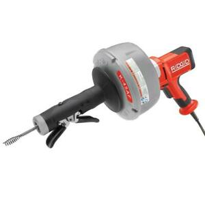 Ridgid 115v Autofeed Drain Cleaning Machine W C 1 5 16 In Inner Core Cable
