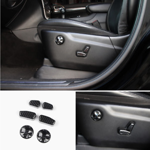 Car Front Seat Switch Adjustment Button Cover For Jeep Grand Cherokee 2011 2020