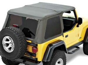 Bestop 52820 35 For Jeep Tj Replace a top Nx Only Black Diamond