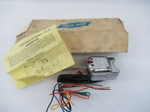 Turn Signal Switch With Wiring Set A5007r Vintage Aftermarket Hot Rat Rod Chrome
