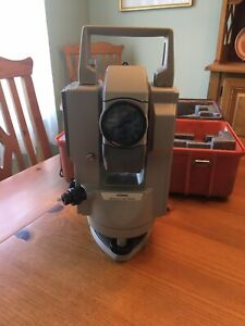 Sokkia Set6e Electronic Total Station Surveying Equipment W Case As Is