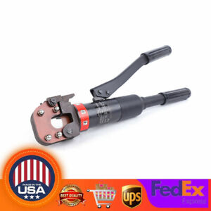 6t Hydraulic Cable Wire Rope Cutter Cable Scissors Metal Wire Cutting Tool