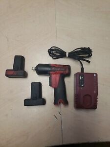 Snap On Ct761a Impact Wrench 2 Batteries And Charger