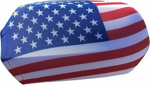 Car Side Mirror Cover Patriotic 4tf Of July Usa Flag Universal Rear View Covers
