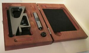 No 995 Starrett Machinist Universal Precision Planer Gage 3 Extension Case