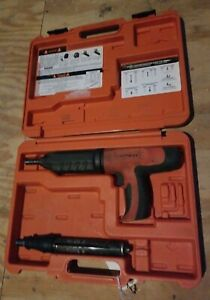 Ramset Cobra Powder Actuated Tool Flooring Concrete Gun Fire Nailer Fastner
