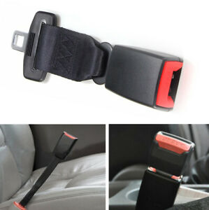 Universal Car Seat Seatbelt Safety Belt Extender Extension 2 1cm Buckle 23cm 9
