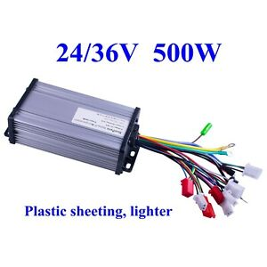Us 24 36v 500w Electric Bicycle E bike Scooter Brushless Dc Motor Speed Controll