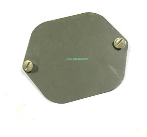 G741 M37 M43 Dodge Military Army Truck Master Cylinder Access Cover Nos