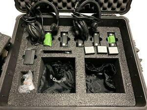 Clear com Tempest 900 Wireless Intercom System Set