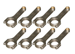 Eagle Gm Ls1 4340 Forged H Beam Rods 6 100 P N Crs6100l3d