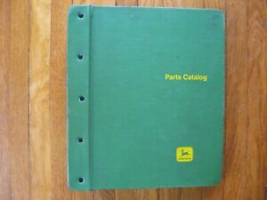 John Deere 720 730 Gas Tractor Parts Catalog Green Jd Binder