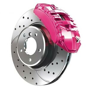Pink G2 Brake Caliper Paint Epoxy Style Kit High Heat Made In The Usa