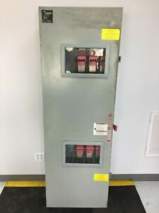 Ge Tdt3365 400 Amp 600 Volt 3 Phase Double Throw Transfer Switch