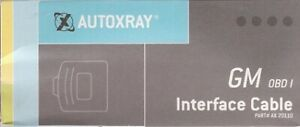 Autoxray Ax 20110 Gm Obd I Interface Cable