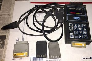 Otc Monitor 2000 Diagnostic Scanner Tool Gm Cartridges And Adapters