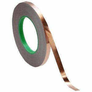 Copper Foil Tape 3 8 X 55 Yds Emi Conductive Adhesive Ship From Usa