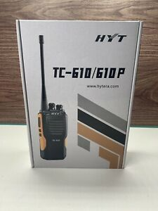Hytera Tc 610v 16 Channel Vhf Portable 5w 136 174 Mhz W Accessories