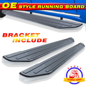 For 09 17 Chevy Traverse Gmc Acadia 6 Running Board Side Step Aluminum Oe Style