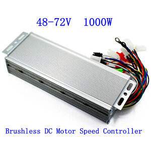 48v 72v 1000w Electric Bicycle E bike Scooter Brushless Dc Motor Speed Controlle