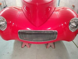 1941 41 Willys Coupe Front Grill Gasser Hot Rat Rod Americar
