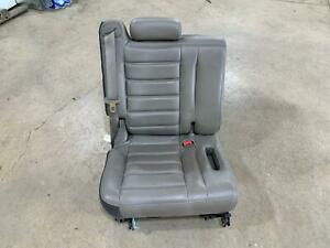 2003 07 Hummer H2 Shale Leather 3rd Third Row Seat Assembly