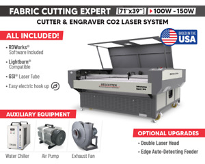 Fabric Cutting Expert 71 x 39 Camera Positioning With Conveyor Belt And Feeder