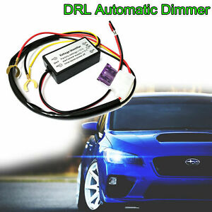 Automatic Drl Daytime Running Lights Module Box On Off Controller Relay Harness