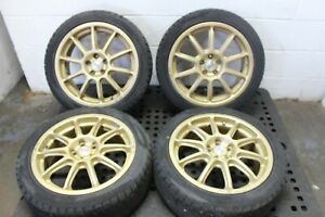 Jdm 17 Inch O z Rally Prodrive 17 Inch Wheels 5x100 Offset 52 215 40 17