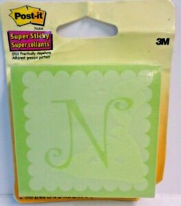 Post it Super Sticky Notes 2 Tabs 75 Sheets Each Total 150 Sheets