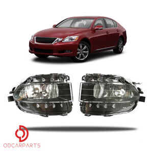 Fits Lexus 2006 Gs300 350 430 450h 2008 2011 Gs460 Front Driving Fog Lights Pair