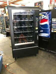 National 167 Glass Front Snack Vending Machine With Credit Card And Sure Vend