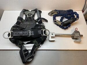 Miller Revolution Fall Protection Harness W Lanyards H Beam Anchor Complete